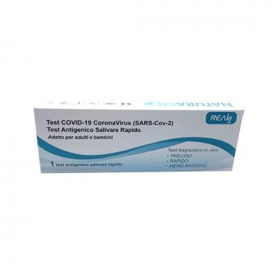 1 Test Salivare Rapido COVID-19 Adulti e Bambini Certificato CE e Reg. Ministero della Salute